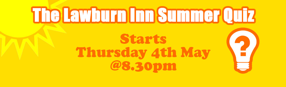 The Lawburn Inn Summer Quiz